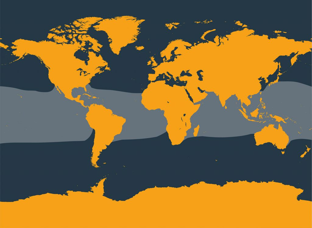 Melon-headed whale distribution map